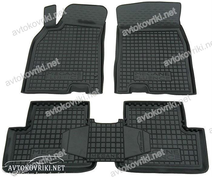 автомобильные коврики renault megane 2