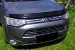 Дефлектор капота для Mitsubishi Outlander 2012-