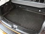 Коврик в багажник автомобиля Subaru XV 2012- полиуретановый черный