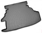 Коврик в багажник автомобиля Toyota Camry 40 2006-2011 полиуретановый черный