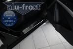 Alufrost Накладки на пороги Suzuki SX4 2013-