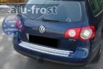 Накладка на бампер с загибом для Volkswagen Passat B6 Variant 2005-2011