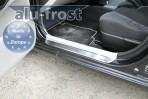 Alufrost Накладки на пороги Kia Ceed 2006-2012 (5 дверей)