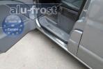 Alufrost Накладки на пороги Mercedes-Benz Vito (W639) 2003-