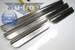 Alufrost Накладки на пороги Mitsubishi Pajero Sport 2005-2007