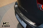 Накладка на бампер с загибом для Seat Altea XL 2006-
