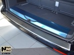 Накладка на бампер с загибом для Volkswagen Transporter T5 2003-