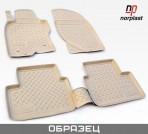 NorPlast Коврики в салон для Audi A6 (C6) 2005-2011 бежевые