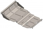 Защита двигателя для Mitsubishi Pajero Sport II 2008-