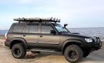 Дефлекторы окон для Nissan Patrol (Y61) 1998-2009