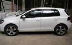 Дефлекторы окон для Volkswagen Golf VI 2009-2013