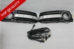 Штатные дневные ходовые огни LED-DRL для Audi A4 (B8) 2007-