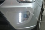 Штатные дневные ходовые огни LED-DRL для Chery Tiggo 2013-