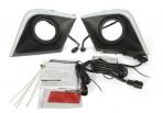 Штатные дневные ходовые огни LED-DRL для JAC S5 2012-