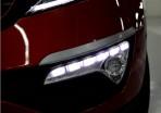 Штатные дневные ходовые огни LED-DRL для Kia Sportage III 2010- (ПТФ с линзой)