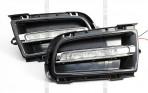 Штатные дневные ходовые огни LED-DRL для Mazda 6 2005-2007