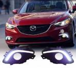 Штатные дневные ходовые огни LED-DRL для Mazda 6 2013-