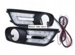 Штатные дневные ходовые огни LED-DRL для Nissan Tiida 2012-