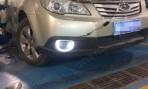 Штатные дневные ходовые огни LED-DRL для Subaru Outback 2010-2012