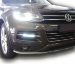 Штатные дневные ходовые огни LED-DRL для Volkswagen Touareg 2010-