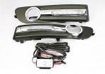 Штатные дневные ходовые огни LED-DRL для Volvo S80 2006-