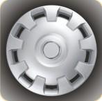 Колпаки колесные с эмблемой R15 (303)