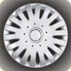Колпаки колесные с эмблемой R15 (306)