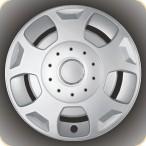 Колпаки колесные с эмблемой R16 (404)