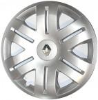 Колпаки колесные с эмблемой R16 (406) Renault org
