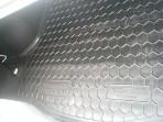 Коврик в багажник для Renault Logan Sedan 2013- полиуретановый