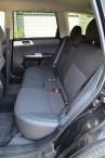 Авточехлы для Subaru Forester 3 2008-2013 серая строчка MW Broth
