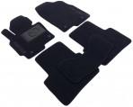 Коврики в автомобиль текстильные Mazda CX-5 2012- черные Бизнес
