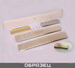 Nataniko Накладки на пороги Opel Corsa 2006- (5 дверей) Standart