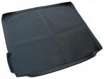 Коврик в багажник автомобиля BMW X5 (F15) 2013- полиуретановый черный