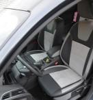 Чехлы из алькантары Ford Focus 3 2011- Leather Style