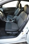Чехлы из алькантары Honda Accord 2013- Leather Style