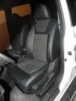Чехлы из алькантары Nissan X-Trail (T31) 2007- SE (с подлокотником)Leather Style