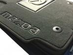 Коврики в автомобиль текстильные Mazda 3 2003-2009 черные Бизнес