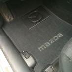 CMM Коврики в автомобиль текстильные Mazda 6 2002-2007 черные Би