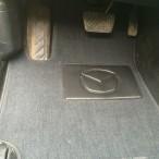 Коврики в автомобиль текстильные Mazda 6 2002-2007 черные Бизнес