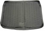 Коврик в багажник автомобиля Nissan Qashqai 2014- полиуретановый черный