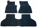 3D Коврики в салон для BMW X5 (F15) 2013- черные