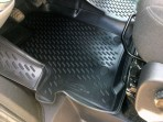 3D коврики в салон для Ford Custom 2012- (передние) Novline