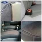 Автомобильные чехлы Ford Connect 2013- (1+1) без столиков