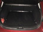 Коврик в багажник автомобиля Mazda 3 Hatchback 2014- полиуретановый черный