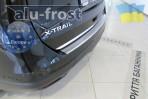 Накладка на бампер с загибом для Nissan X-Trail (T32) 2014-
