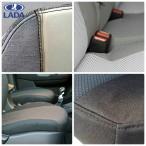 Авточехлы для Lada Largus (7 мест) деленная спинка
