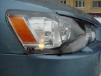 Защита фар Mitsubishi Lancer X 2007- прозрачная