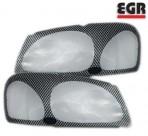 EGR Защита фар Mitsubishi Pajero Sport 2000- карбон
