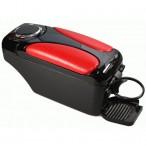 Vitol Подлокотник HJ48007 (красный)/чёрный